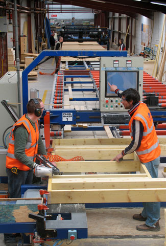 IJM Timber Frame - Manufacture